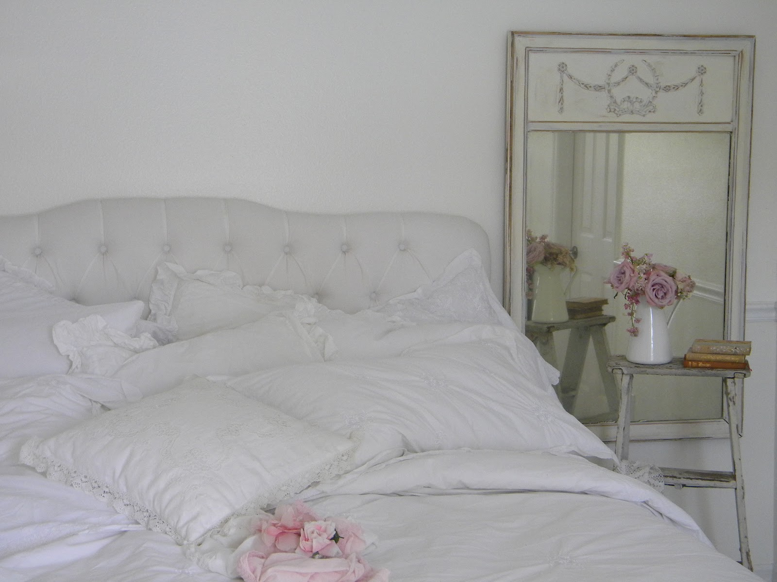 Simply Me: White Bedding For Spring