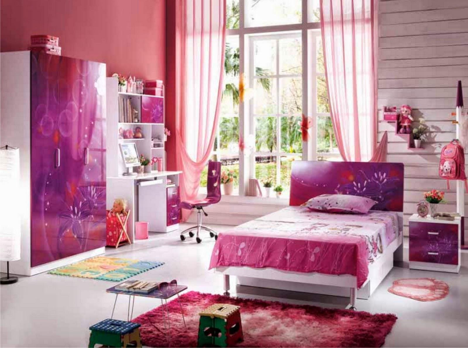 gambar cara menata kamar tidur anak perempuan lifestyle