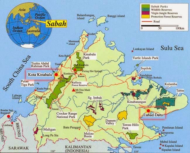 Sabah Dilanda Tsunami Dan Ribut
