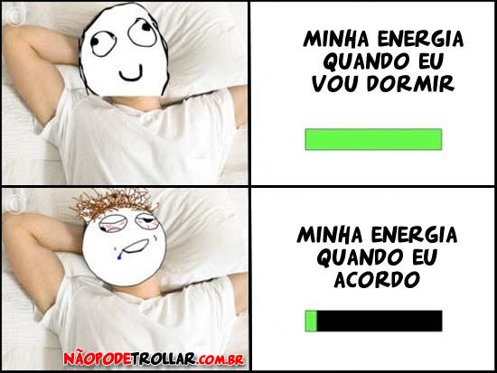 energias dormir