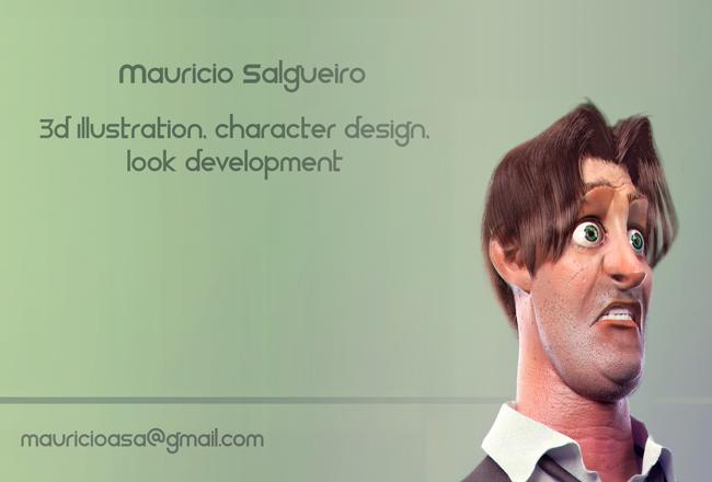 Mauricio Salgueiro - 2d, 3d Arts