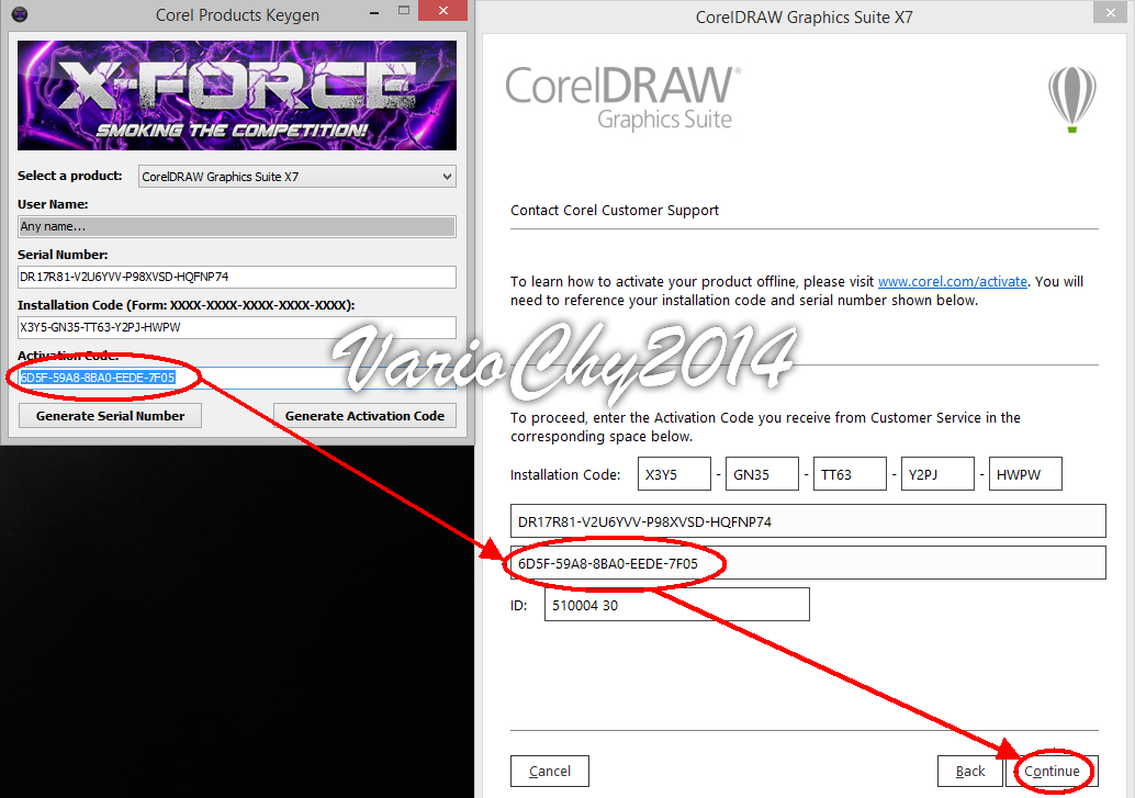 corel draw x7 x force keygen