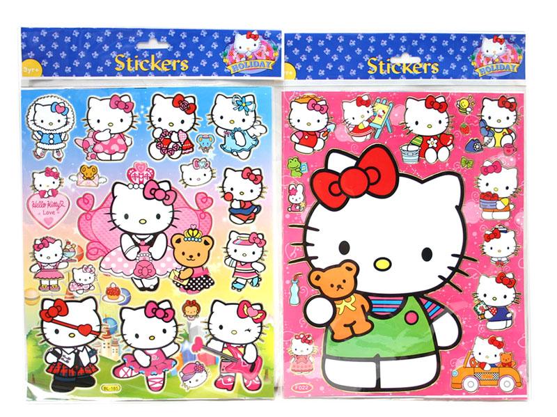 Pin Hello Kitty Sticker Picture on Pinterest