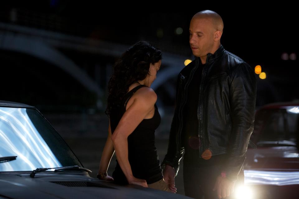 Fast & Furious 6: Gina Carano, Vin Diesel, Dwayne Johnson ...