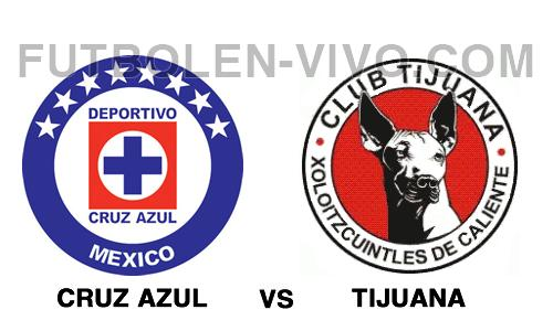 Cruz Azul vs Tijuana