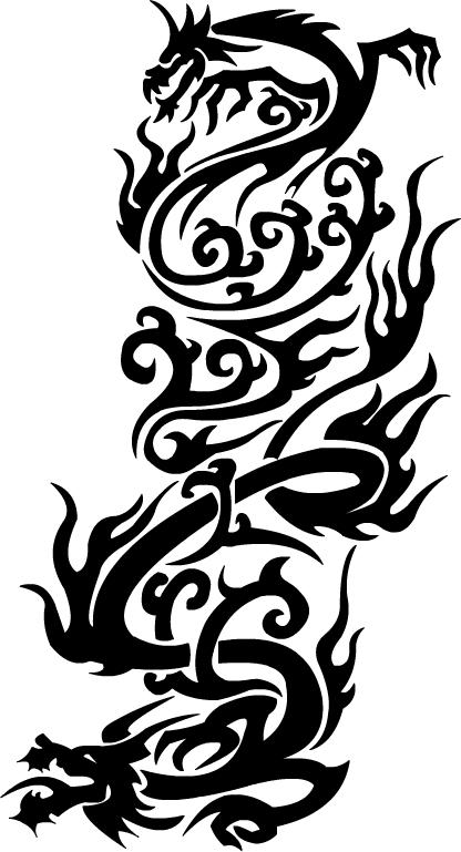 Dragon Tribal Tattoo Design | Tattoo Picture, Photos and