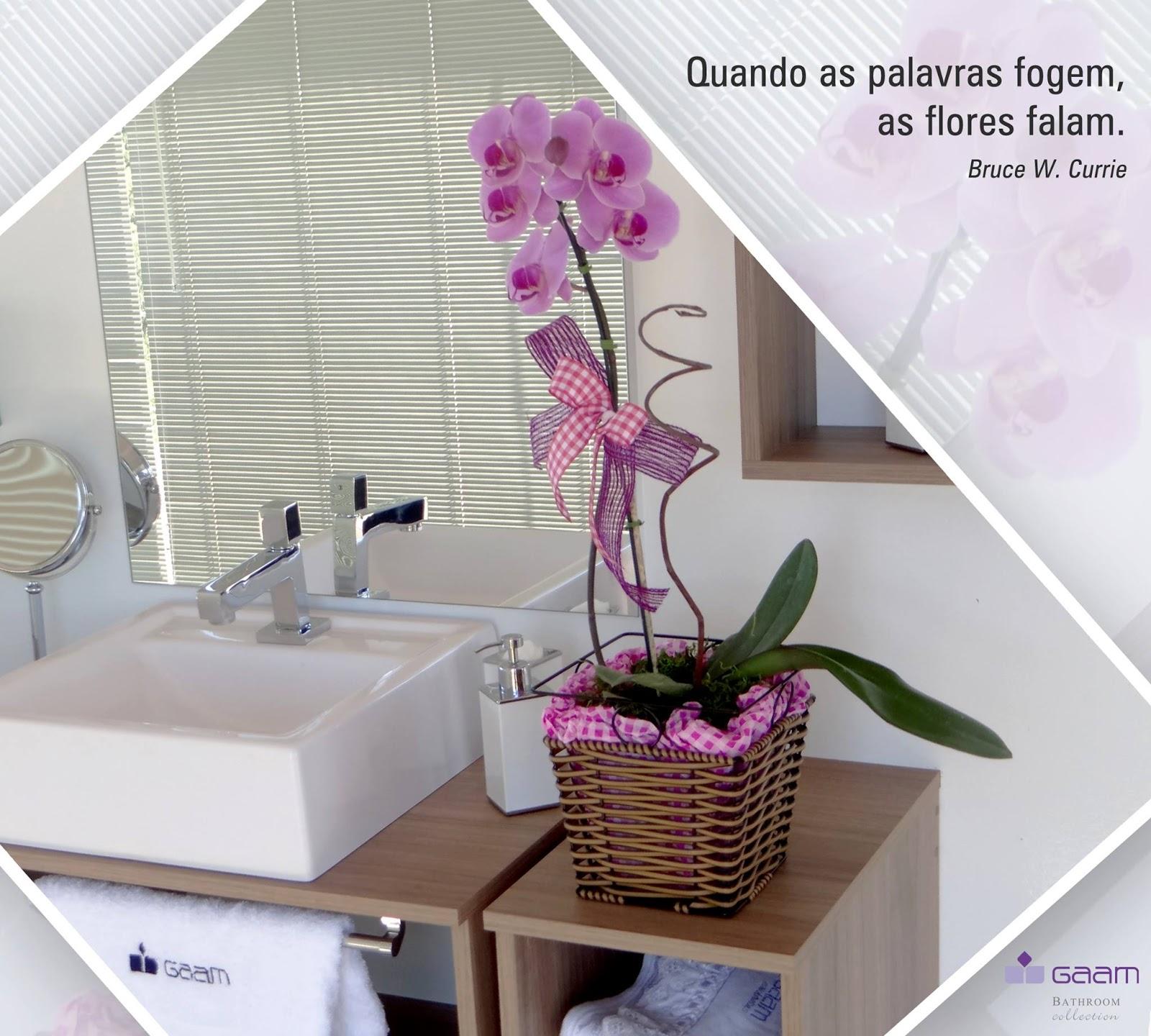 Banheiros com Estilo: Decore seu banheiro com flores #813E6E 1600 1440