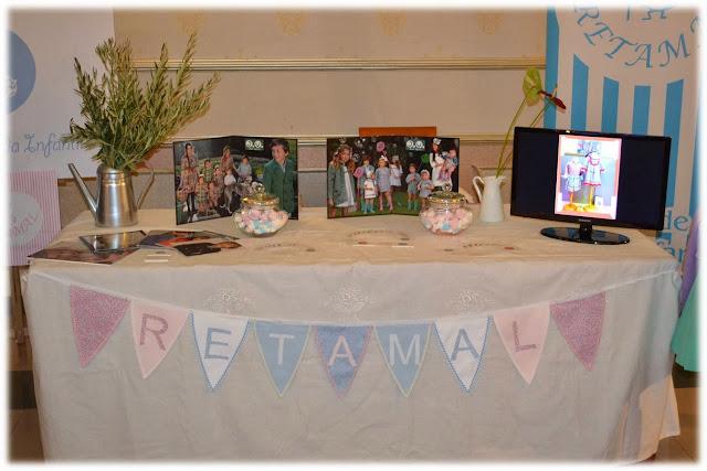Stand gala novios en Blog Retamal moda infantil y bebe