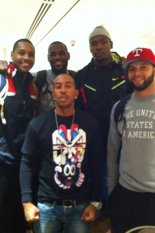 "30 Home Games: Team USA Basketball sings ""We are Young ... K Michelle And Ryan Lochte Tweets"