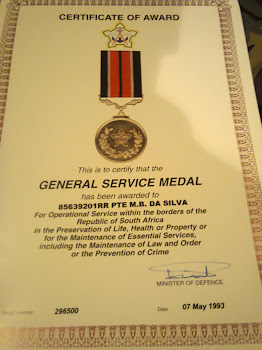 mil service medal certificate