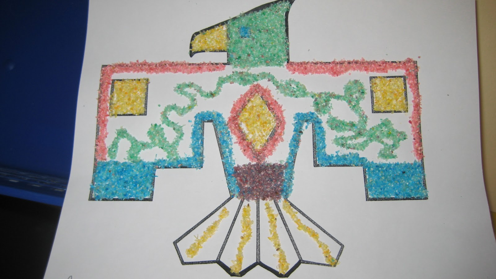 navajo sand painting coloring pages - photo#24