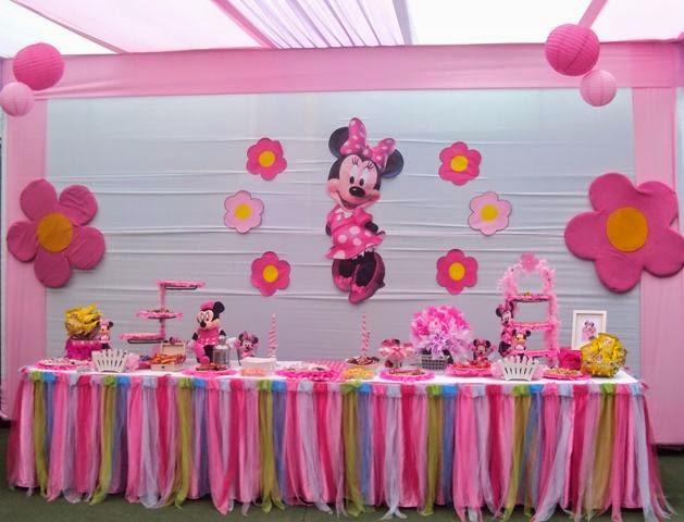 MuyAmenocom Fiestas Infantiles Decoradas con Minnie Mouse parte 2