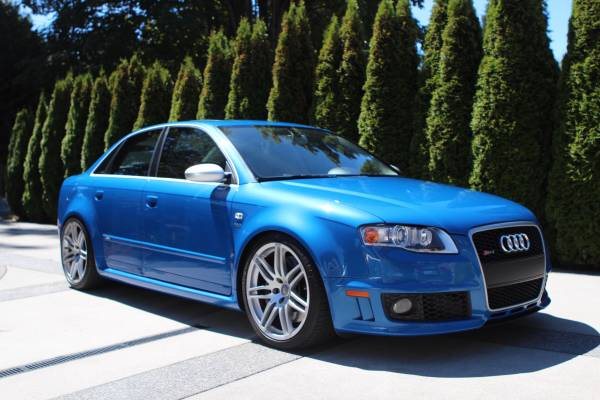 sprint blue 2007 audi rs4 auto restorationice. Black Bedroom Furniture Sets. Home Design Ideas
