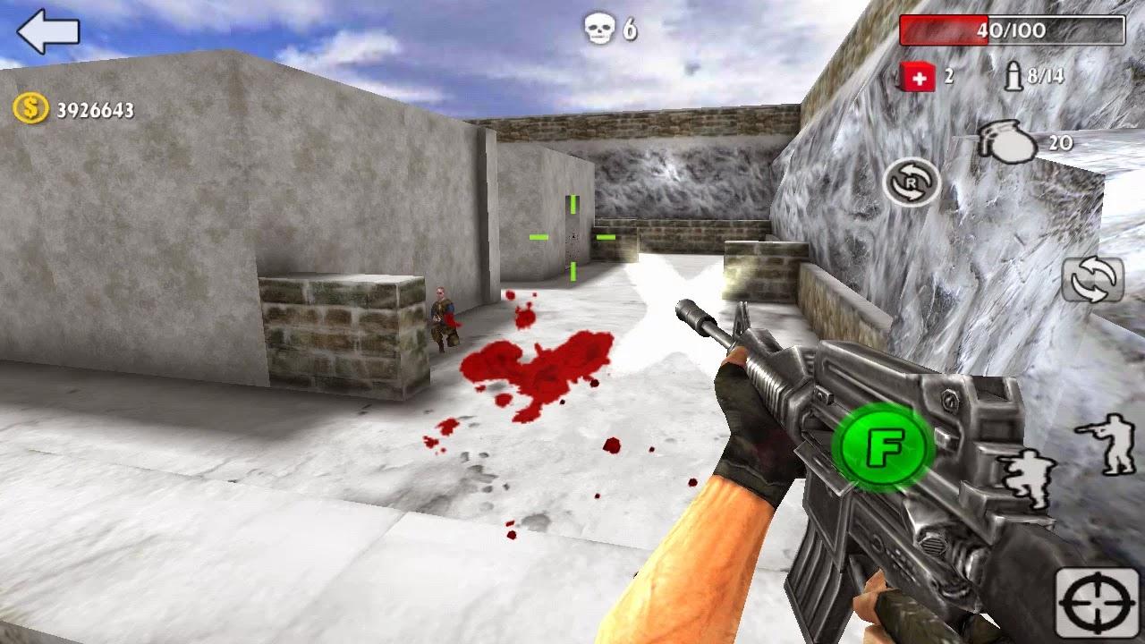 Android Gun Strike 3D Apk resimi 1