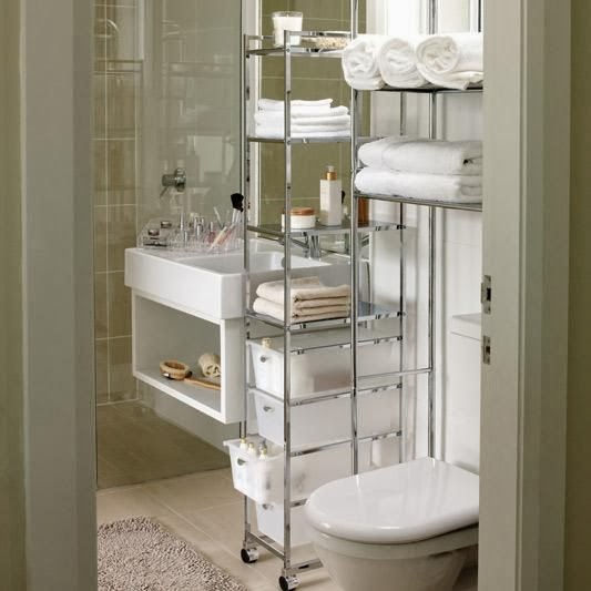 Bathroom ideas for small spaces bedroom and bathroom ideas for Bathroom shelving ideas for small spaces