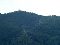 El Puig de la Creu des de la carretera de Terrassa