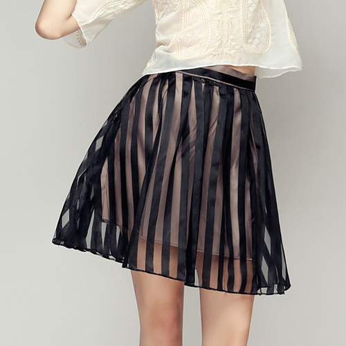 Striped Dreamer Organza Skirt