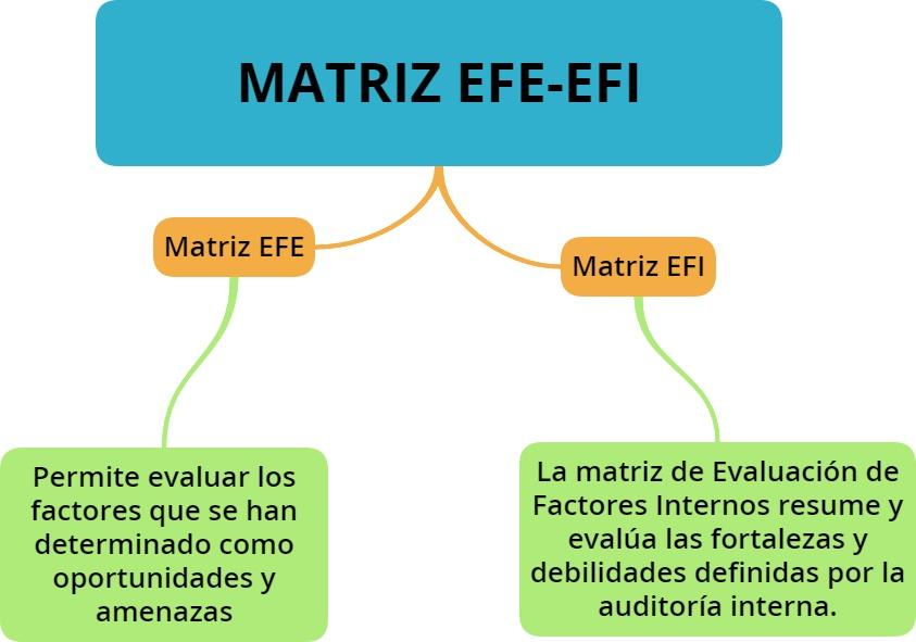 Matriz Efe Y La Matriz Efi