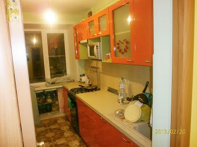 Ремонт на кухне укладка кафельного пола выравнивание стен