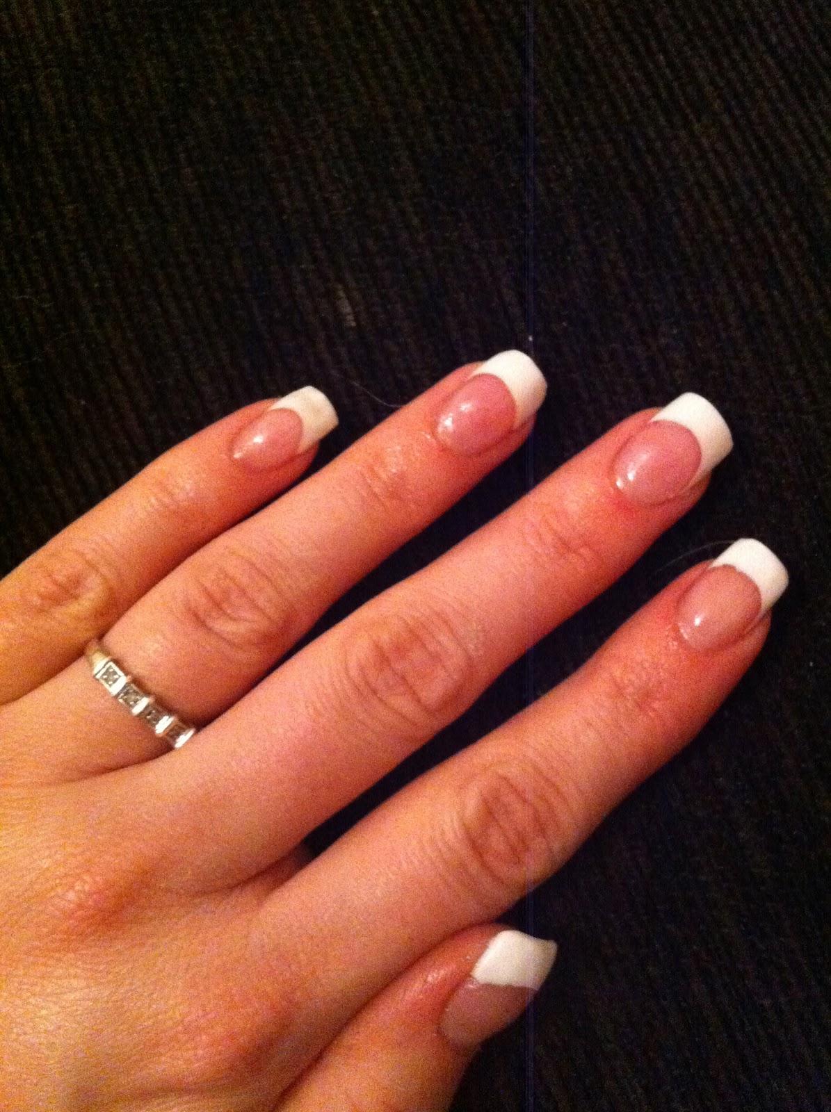 Non allergenic acrylic nails