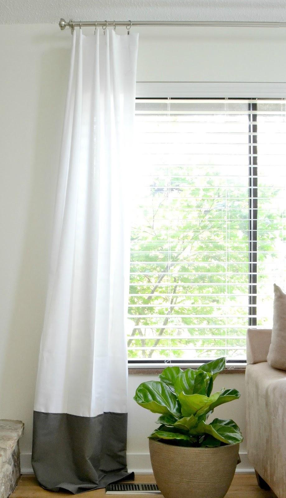 Как сшить модные шторы