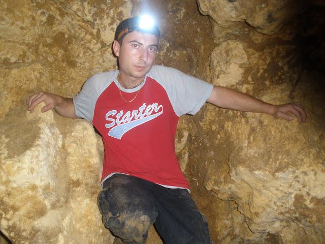 Тупик в Алимовой пещере. Русфет