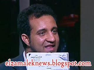 أحمد مرتضى عضو مجلس إدارة نادي الزمالك