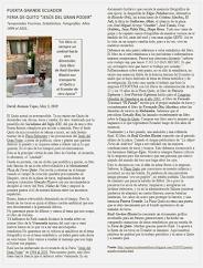 """David Alemán:  Libro Puerta Grande Ecuador. Feria de Quito """"Jesús del Gran Poder"""". Años 1994 al 200"""