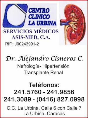 DR. ALEJANDRO CISNEROS COLOMBO en Paginas Amarillas tu guia Comercial