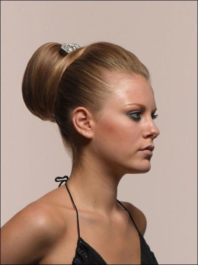 Bayan Topuz Saç Modelleri 2013