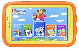 Samsung Galaxy Tab 3 Kids Tablet Untuk Anak-anak