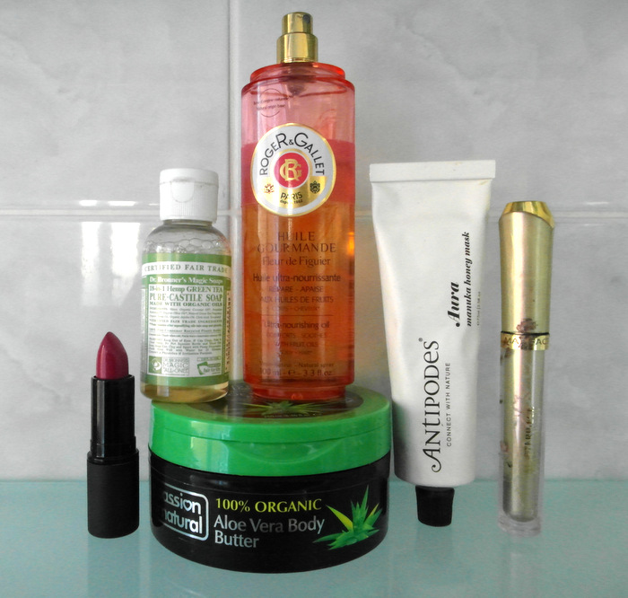 image beauty blogger favourite products from October 2014