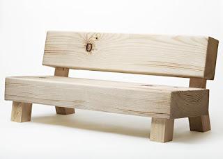 Panca sedile antico, semplice a due o più posti con o senza schienale