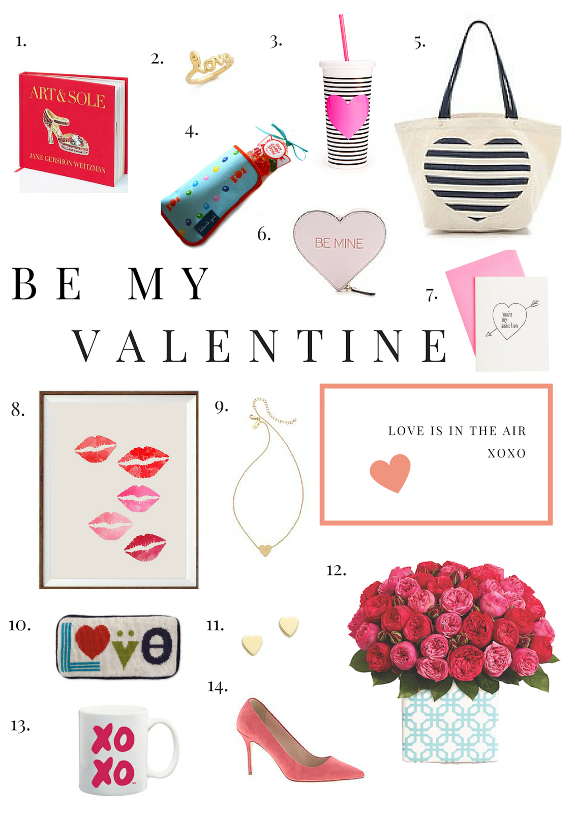 Be My Valentine, Valentine's Day, Gift Guide, Project Soiree