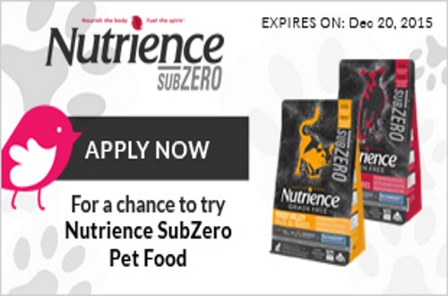 Chickadvisor Nutrience SubZero Pet Food Campaign