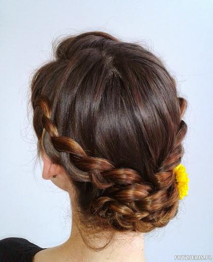 fryzura ślubna 85