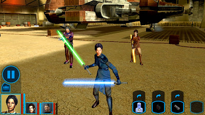Star Wars Knights of the Old Republic v1.0.4 APK (HACK)