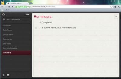 New iCloud Reminders