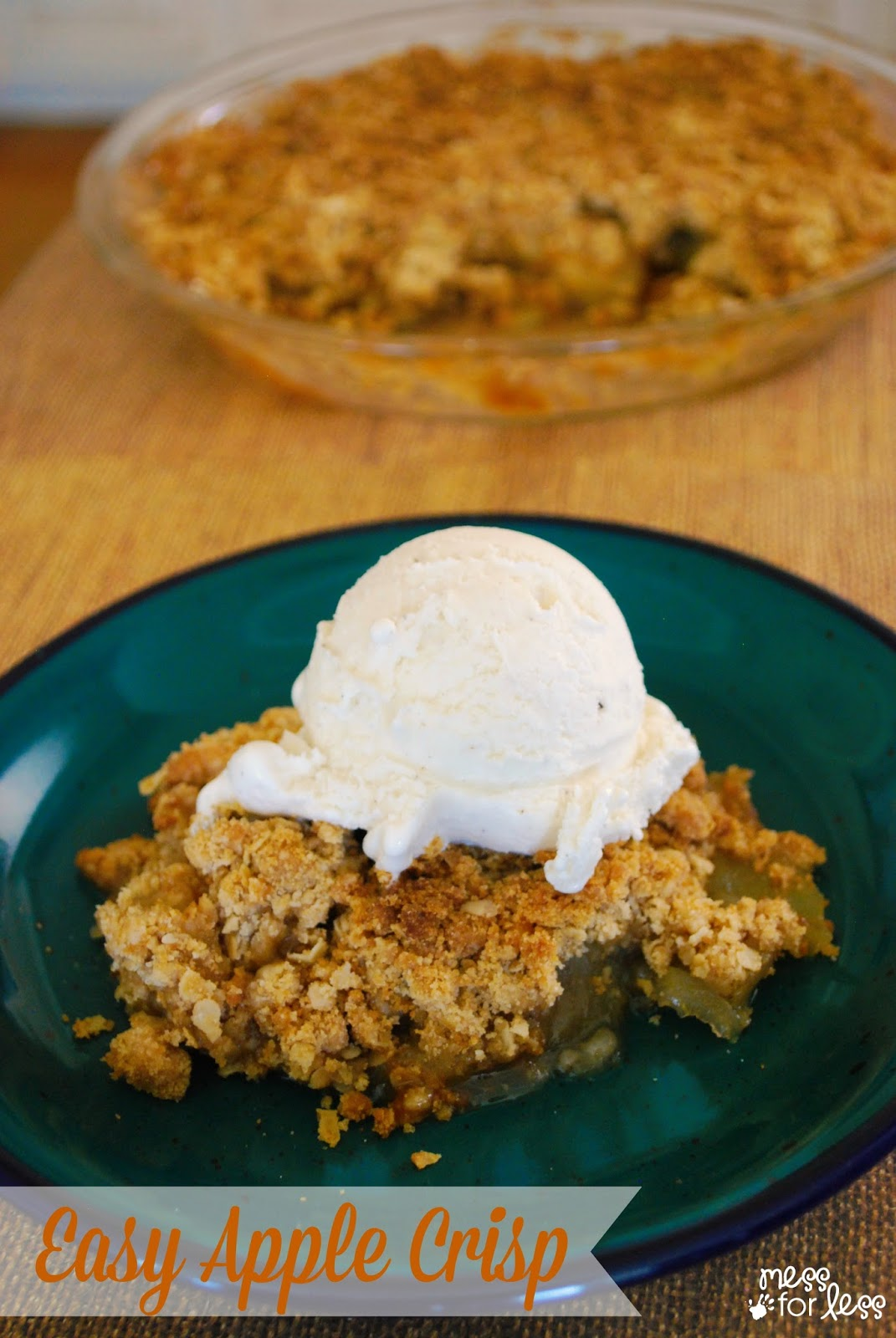 crisp apple crisp apple crisp i apple crisp grandma s quick and easy ...