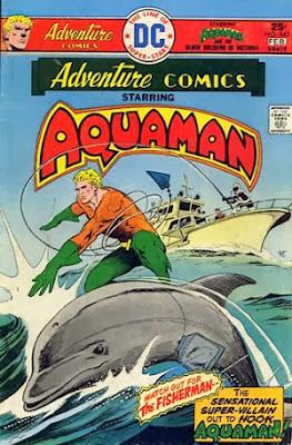 adventure comics, aquaman, 443, comic book
