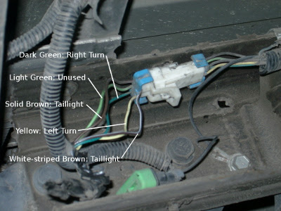 how to connect trailer wiring 2003 chevy S10 pickup 006 400x300 milt reynolds thinking out loud how to connect trailer wiring 2009 chevy silverado tail light wiring harness at reclaimingppi.co