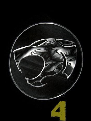 Thunder Cats Logo on Bundle4life   Bukan Dari Guni  Thundercats Chrome Logo Shirt  New Ori