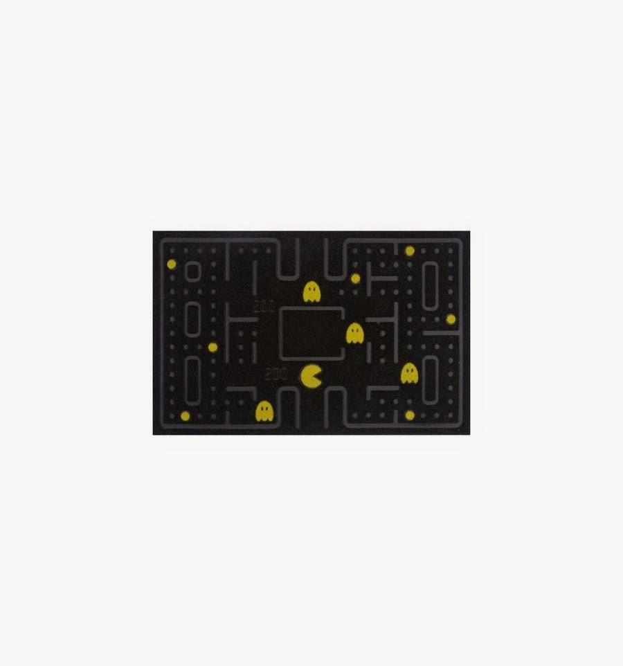 Felpudo Puerta Pacman Comecocos