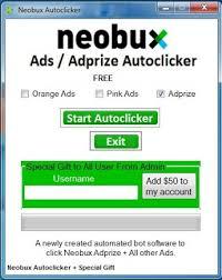 Браузерный автокликер для: buxto, xclixnet, bux3com, 07buxnet, neobuxcom, 10buxnet