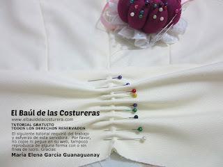 Confección chaqueta kaftán Aris Agoriuq de El Tiempo entre Costuras armado del drapeado o fruncido