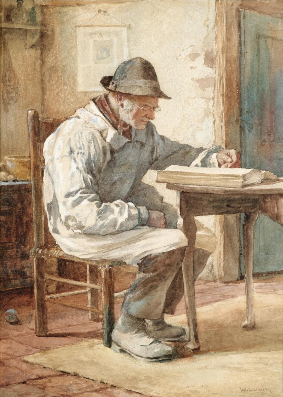 Walter Langley The Old  ook