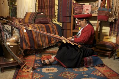 Textile Weaving in the Andes