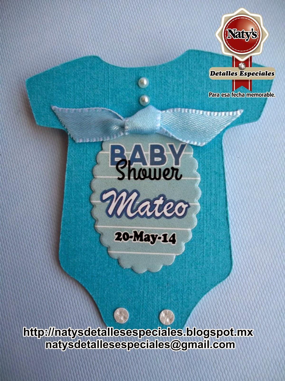 Natys detalles especiales para esa fecha memorable - Detalles para baby shower ...