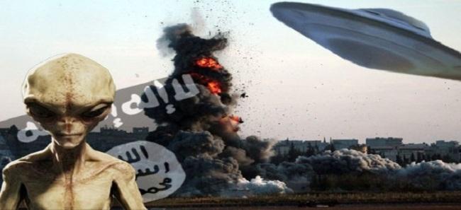 ΒΙΝΤΕΟ ΝΤΟΚΟΥΜΕΝΤΟ! Οι εξωγήινοι πολεμούν τον ISIS (ΒΙΝΤΕΟ)