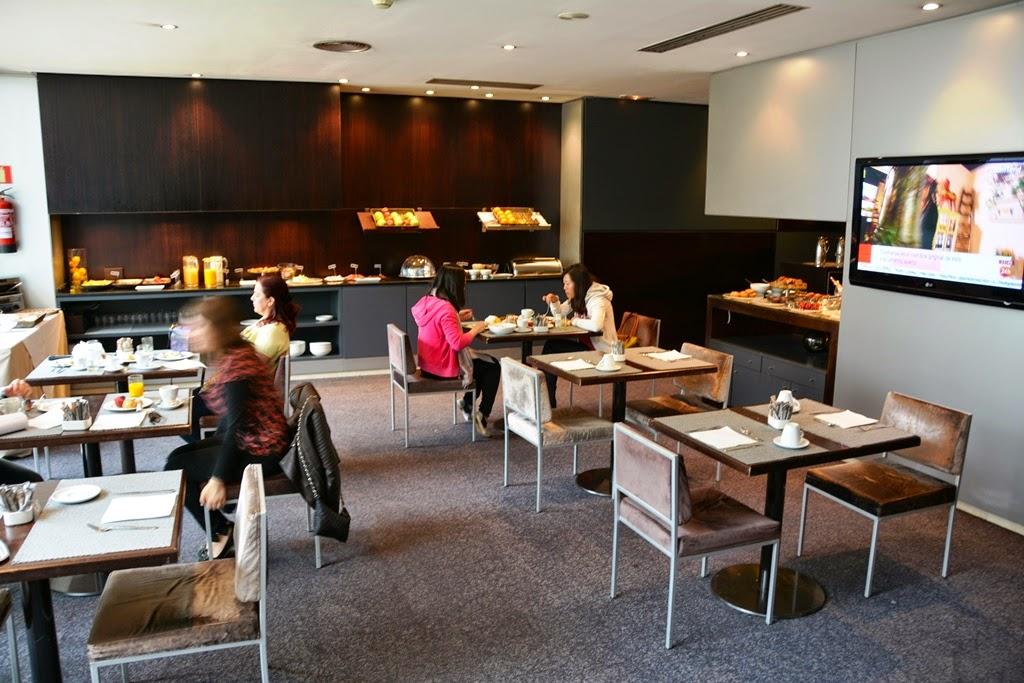 Hotel Vilamari Barcelona breakfast